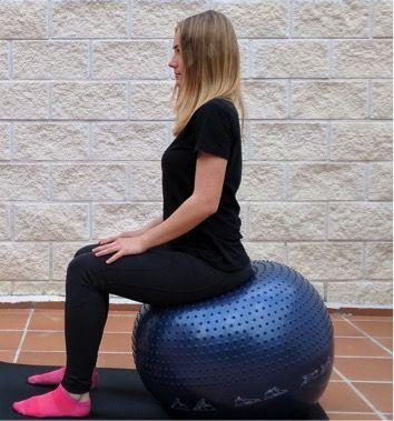 ejercicios de kegel con fitball