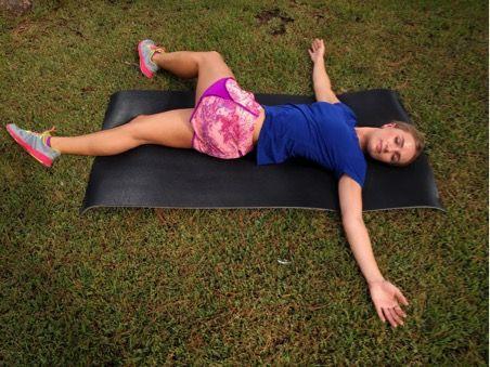 ejercicios de pilates estando tumbadas
