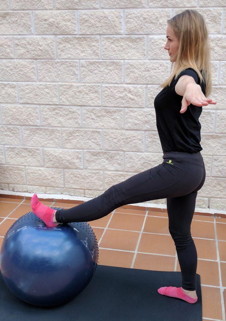 ejercicio de equilibrio