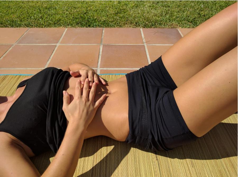 Espiración en pilates