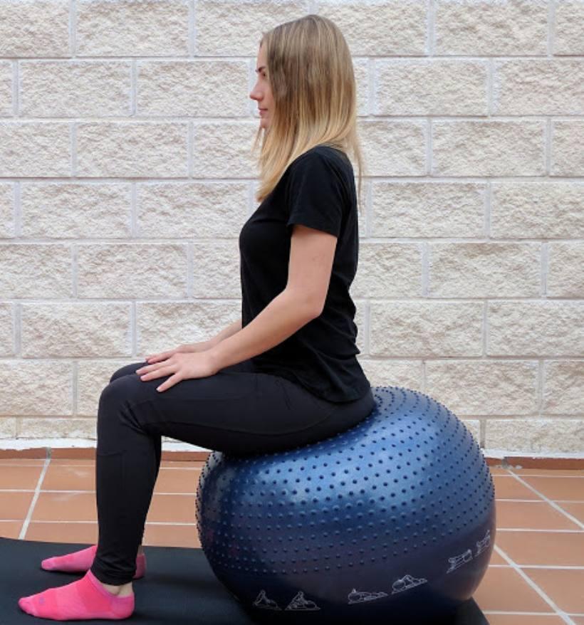 Corrección de la postura sentada