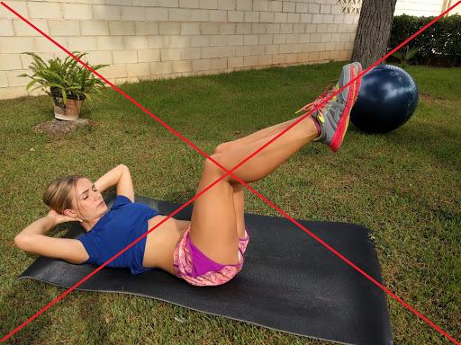 Qué ejercicios abdominales puedes practicar en el embarazo y cuáles evitar a toda costa