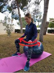 ejercicios con pelota para dilatar